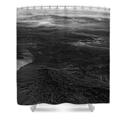 Mountains And Desert Shower Curtain