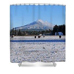 Mt. Pilchuck Shower Curtain