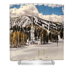 Mt. Rose Shower Curtain