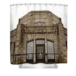 Vista House, Columbia River Gorge, Or. Shower Curtain
