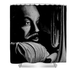 Musical Muse Shower Curtain