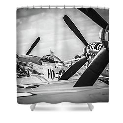 Mustang Ranch Shower Curtain