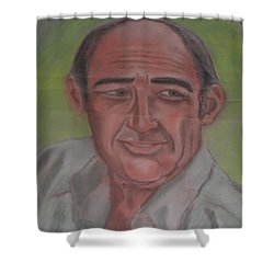 My Dad Shower Curtain by Val Oconnor