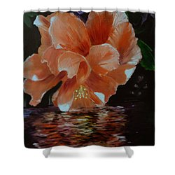 My Hibiscus Shower Curtain