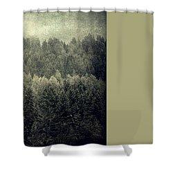 Mystic Woods Shower Curtain
