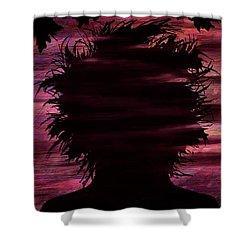 Narcissus Shower Curtain by Rachel Christine Nowicki