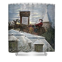 Nast: Santa Claus Shower Curtain by Granger