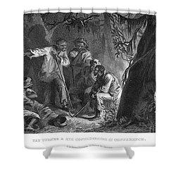 Nat Turner (1800-1831) Shower Curtain by Granger