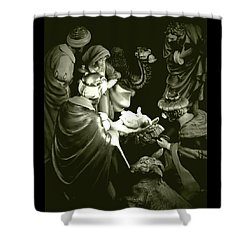 Nativity Shower Curtain