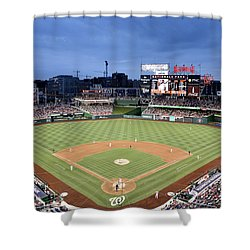 Nats Park - Washington Dc Shower Curtain