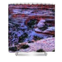 Natural Bridges National Monument Shower Curtain