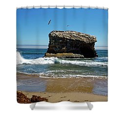 Natural Bridges State Park Shower Curtain