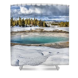 Nature's Painting Shower Curtain by Yeates Photography