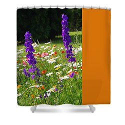 Ncdot Planting Shower Curtain