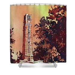 Ncsu Bell-tower Shower Curtain