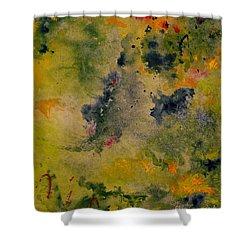 Nebula Shower Curtain by Karen Fleschler