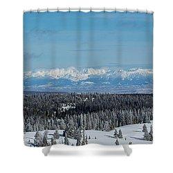 Never Summer  Shower Curtain