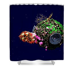 New Life 2 Shower Curtain