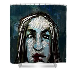 Night Life Shower Curtain by Jim Vance