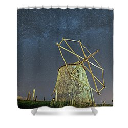 Shower Curtain featuring the photograph Night Sky  by Bruno Rosa