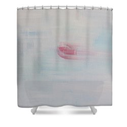 Letting Things Take Their Own Course Shower Curtain