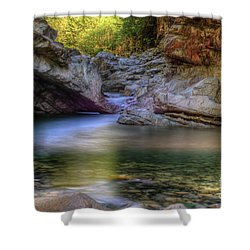 Norrish Pool Shower Curtain