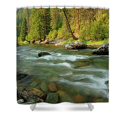 North Fork Of The St. Joe Shower Curtain