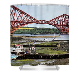 Shower Curtain featuring the photograph North Queensferry by Jeremy Lavender Photography