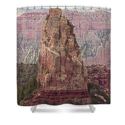 North Rim Rock  Shower Curtain