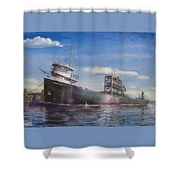 Northern Lights Shower Curtain by Christopher Jenkins