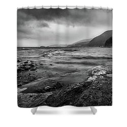 Shower Curtain featuring the photograph Not A Better Day To Go Fishing by Dmytro Korol