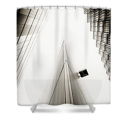 Not The Shard Shower Curtain