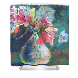 Not Your Mothers Vase Shower Curtain