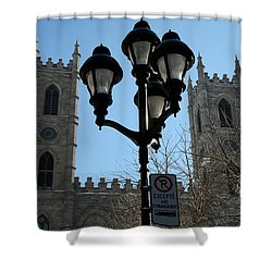 Notre Dame Basilica In Montreal Shower Curtain