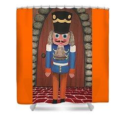 Nutcracker Sweet Shower Curtain by Thomas Blood