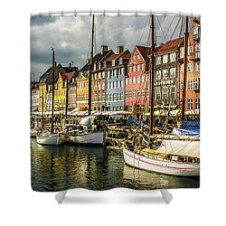 Nyhavn Shower Curtain