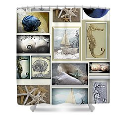Ocean Wisper Shower Curtain