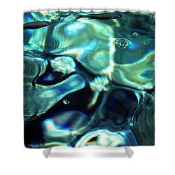Shower Curtain featuring the photograph Ocean Water by Colette V Hera  Guggenheim