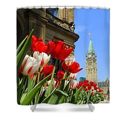 Oh Canada Shower Curtain