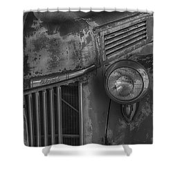 Old Ford Pickup Shower Curtain by Garry Gay