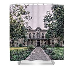 Old Gillespie County Courthouse Shower Curtain