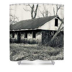 Shower Curtain featuring the photograph Old Homestead 2 by Michael Krek