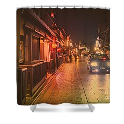 Old Kyoto, Gion Japan Shower Curtain