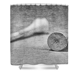Old Tees Shower Curtain