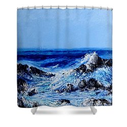 Keanae Point  Shower Curtain