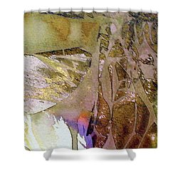 Shower Curtain featuring the painting On Gossamer Wing by Mary Sullivan