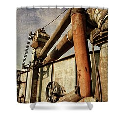Shower Curtain featuring the photograph On The Farm by Michelle Calkins