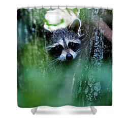On Watch Shower Curtain