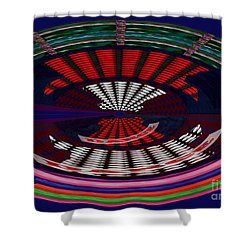 Opposit Arc Pattern Abstract Digital Graphic Art Interior Decorations Buy Painting Print Poster Pill Shower Curtain by Navin Joshi