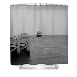 Ostend 2 Shower Curtain